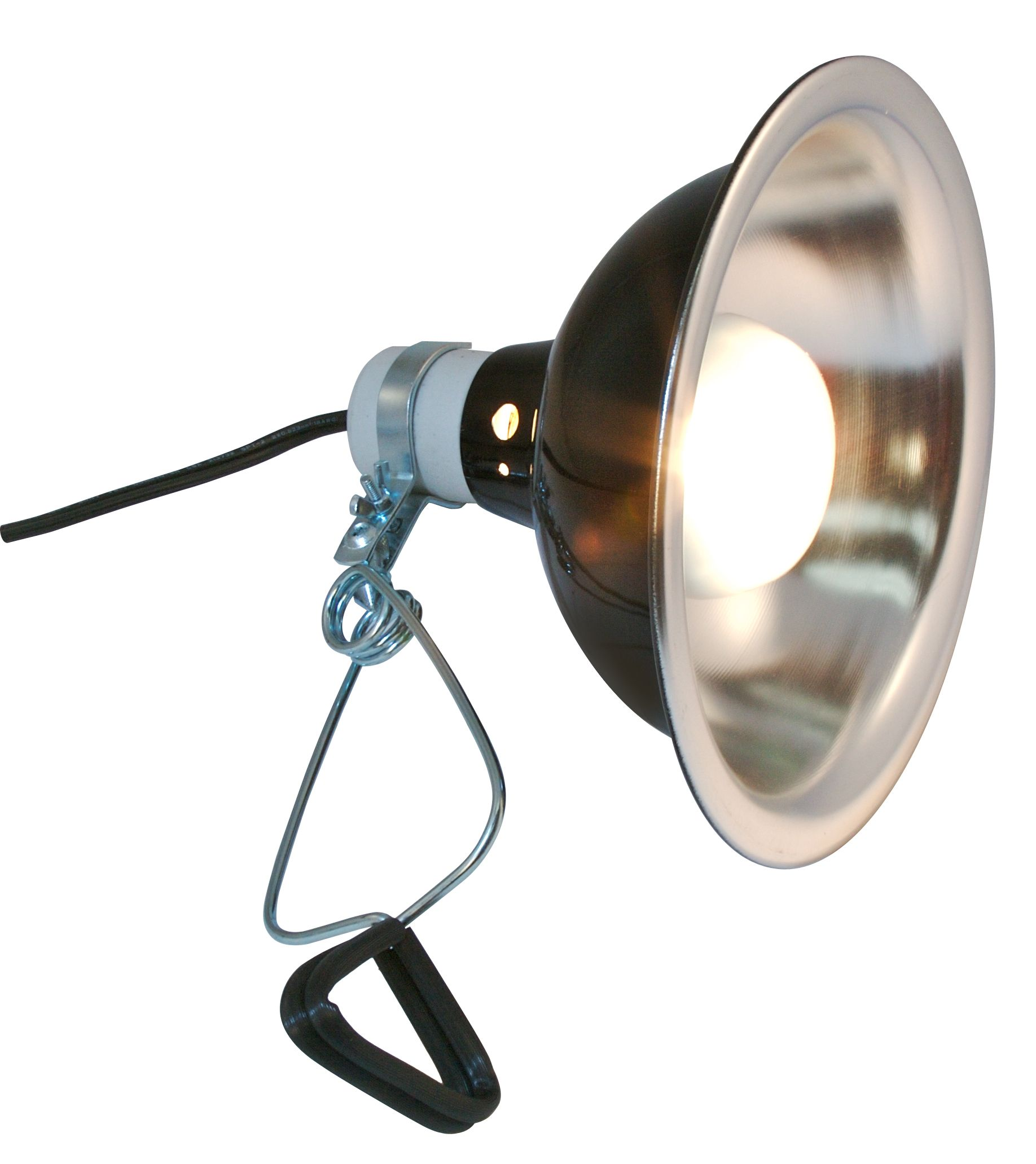 listed light with hiwkltclamplightm cord simple clamp reflector w ul foot aluminum deluxe inch lighting watt lamp